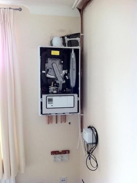 PESL Installation of new boiler